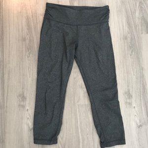 Lululemon Charcoal grey mid-calf athletic pants